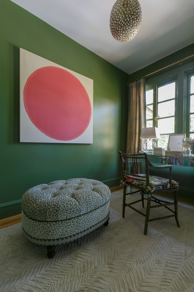 Transitional bedroom photo in San Francisco