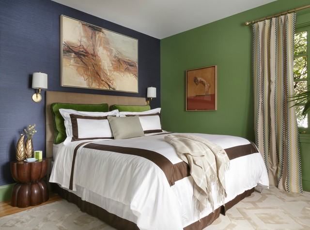 Traditional Home Magazine Napa Valley Showhouse 2013 - Master Suite transitional-bedroom