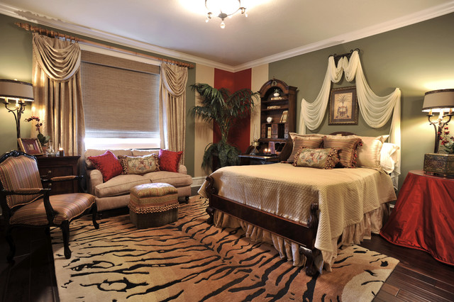 Traditional interior traditional bedroom houston for Interior design bedroom traditional