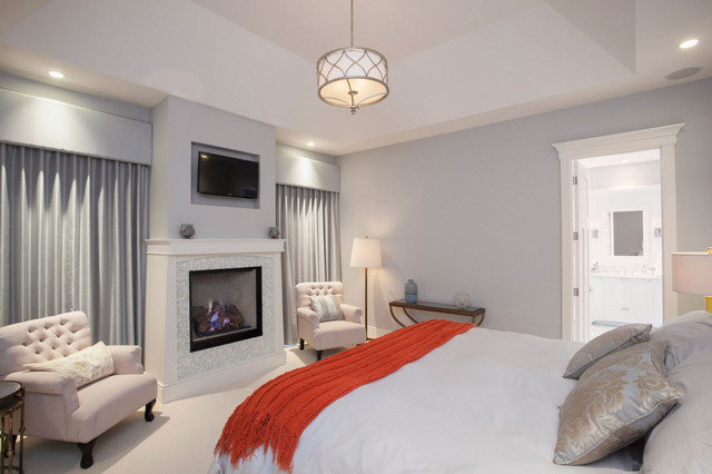 Traditional Master Bedroom Traditional Bedroom Calgary By Maillot Homes