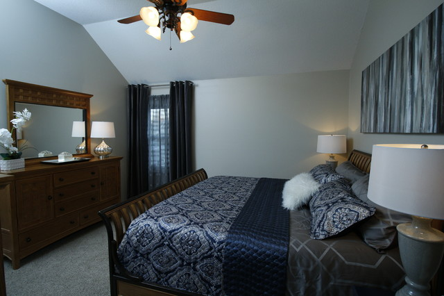Traditional Master Bedroom Transitional Bedroom Kansas City By Michelle Ford Design