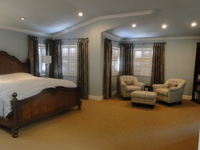 Traditional Master Bedroom Suite Traditional Bedroom San Francisco By Marie Antoinette