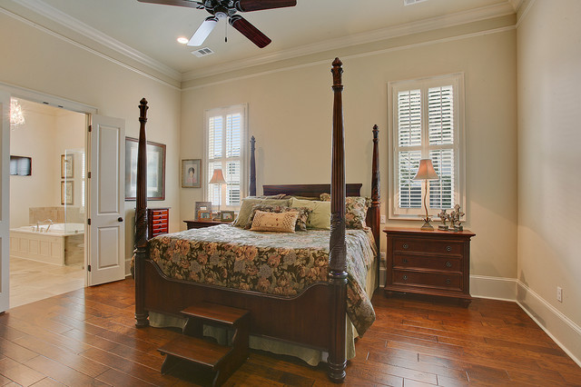 Traditional Master Suite Traditional Bedroom New Orleans By Highland Homes Inc