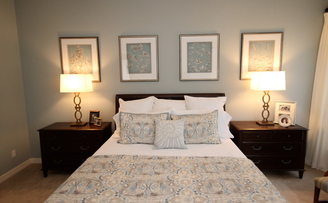 Tranquil Bedroom - Traditional - Bedroom - austin - by Lynn Unflat at Ethan Allen