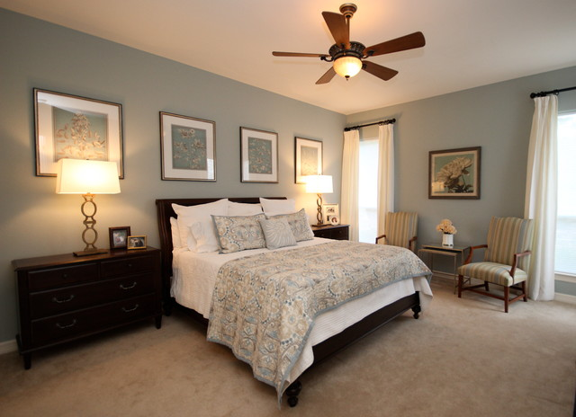 Tranquil Bedroom Traditional Austin By