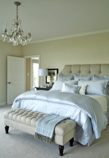 Tranquil Master Bedroom Traditional Bedroom Toronto