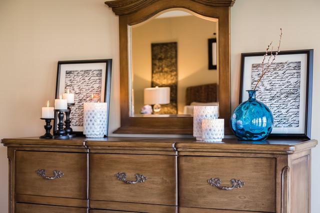 Transcending Southern Living transitional-bedroom