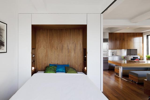 Transformer Loft modern-bedroom