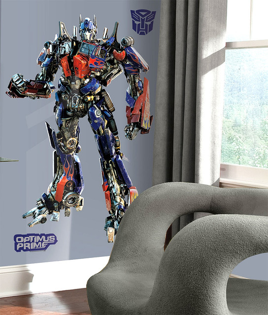 Delightful Transformers Bedding And Room Decorations Modern Bedroom
