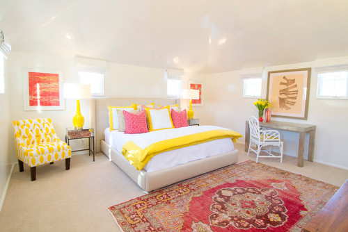 Transitional Bedroom