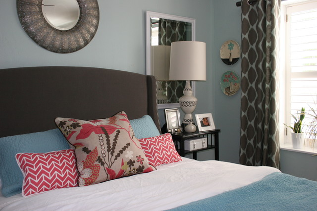 Master Bed transitional-bedroom