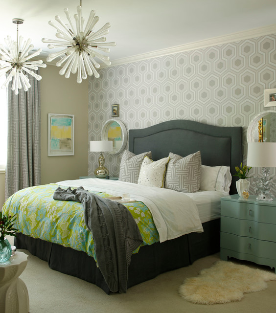 25 Stunning Transitional Bedroom Design Ideas: Transitional Bedroom