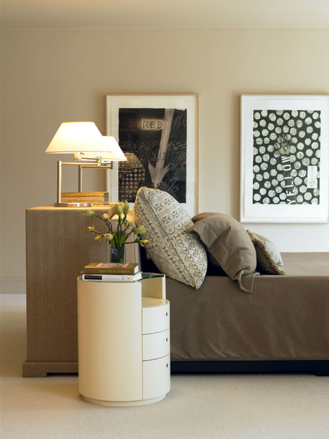 The Orpin Group Interior Design Transitional Bedroom