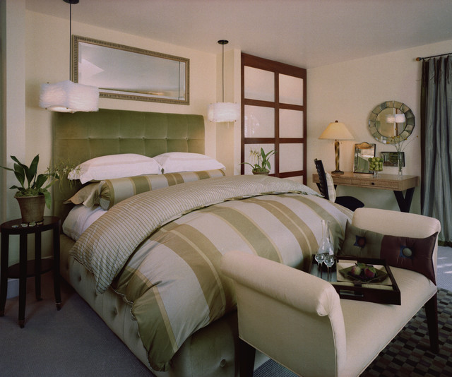 Kathy Bloodworth contemporary bedroom