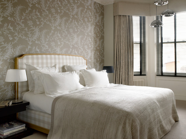 Wynnstay Gardens Transitional Bedroom London By