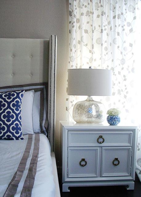 Modern Glamour Master Bedroom contemporary-bedroom