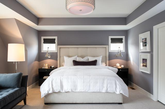 Transitional Bedroom fusion-bedroom