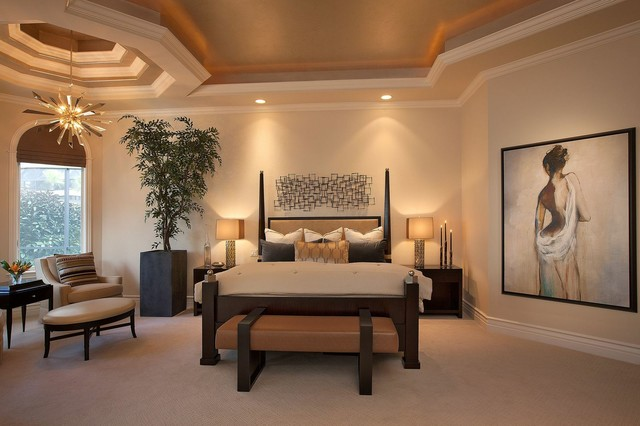 Private Estate Home Naples Florida Transitional Bedroom Other Metro B