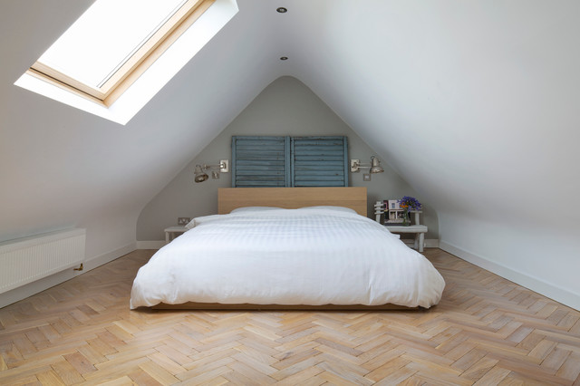 Attic Bedroom - Private Home Wicklow transitional-bedroom & Attic Bedroom - Private Home Wicklow - Transitional - Bedroom ...