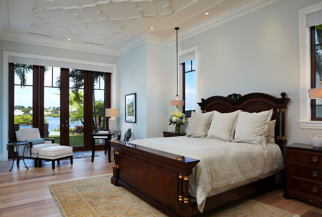 Transitional contemporary ac109 mediterranean bedroom for Modern mediterranean bedroom