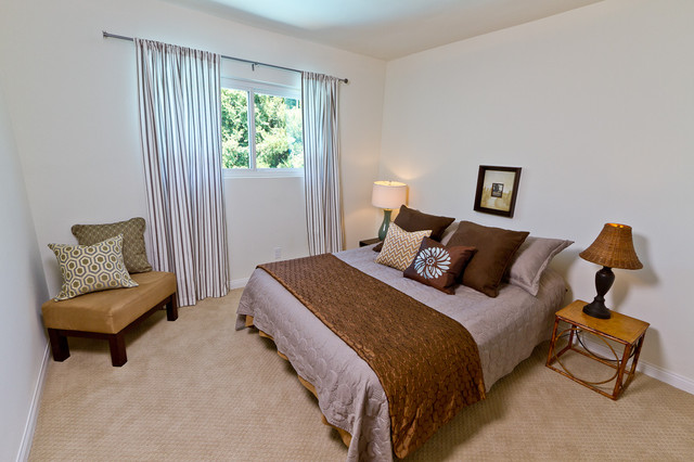 Transitional Guest Bedroom Style modern-bedroom
