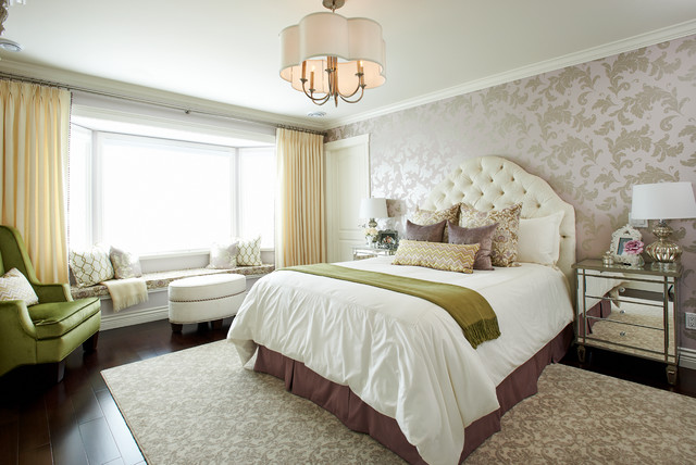 Transitional Home Contemporary Bedroom Vancouver