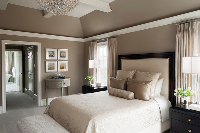 Transitional master bedroom in saint davids transitional bedroom philadelphia by Cot design for master bedroom