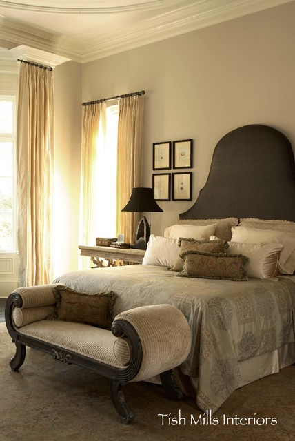 Transitional Master Suite Traditional Bedroom Atlanta By Harmonious L