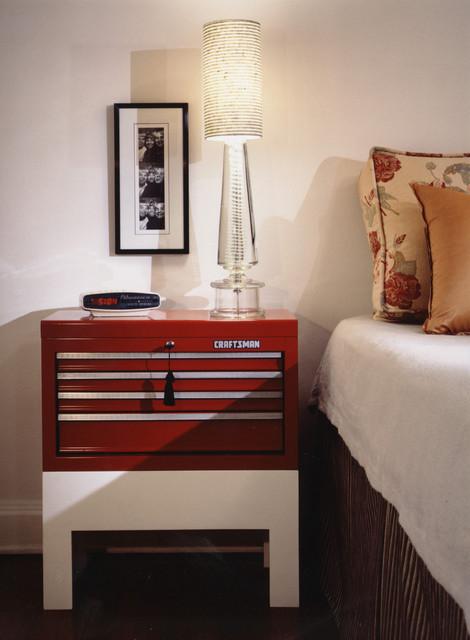 Transitional Modern transitional-bedroom