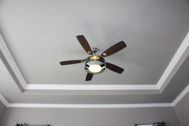 Tray Ceiling With Crown Molding Upgrade Bedroom Other