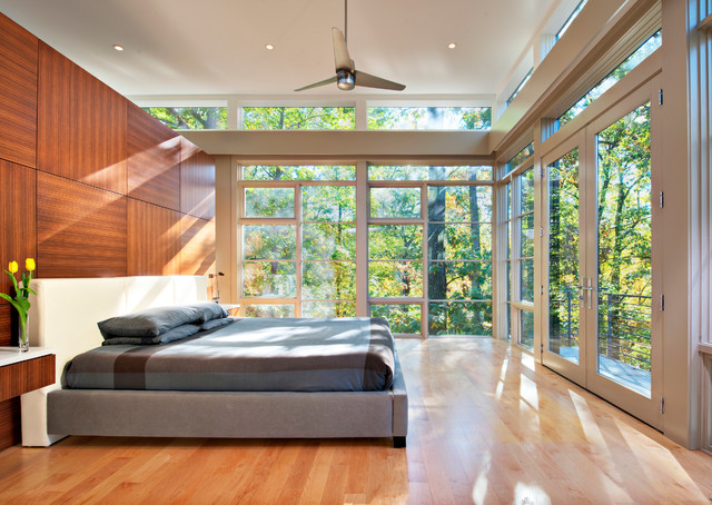 Tree House Bedroom - contemporary - bedroom - dc metro - by Moore ...