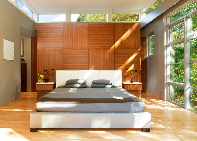 Tree House Bedroom contemporary-bedroom