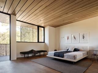 minimalist bedroom organization