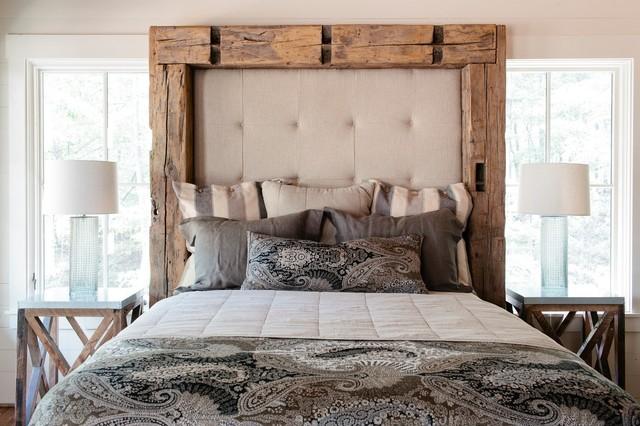 Treetop Rustic Bedroom Birmingham By Seibels Cottage