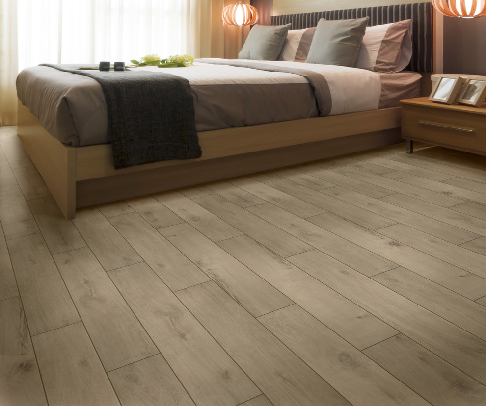 Trend: Reclaimed Wood Look Tile - Traditional - Bedroom - Other
