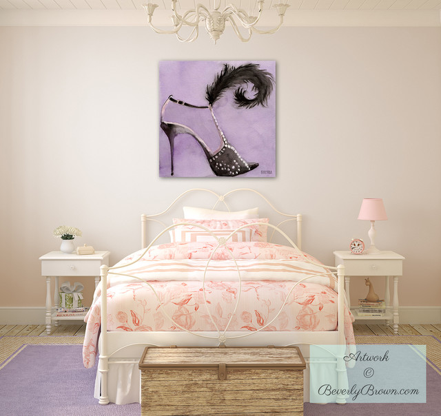 Trendy Or Tween S Bedroom With