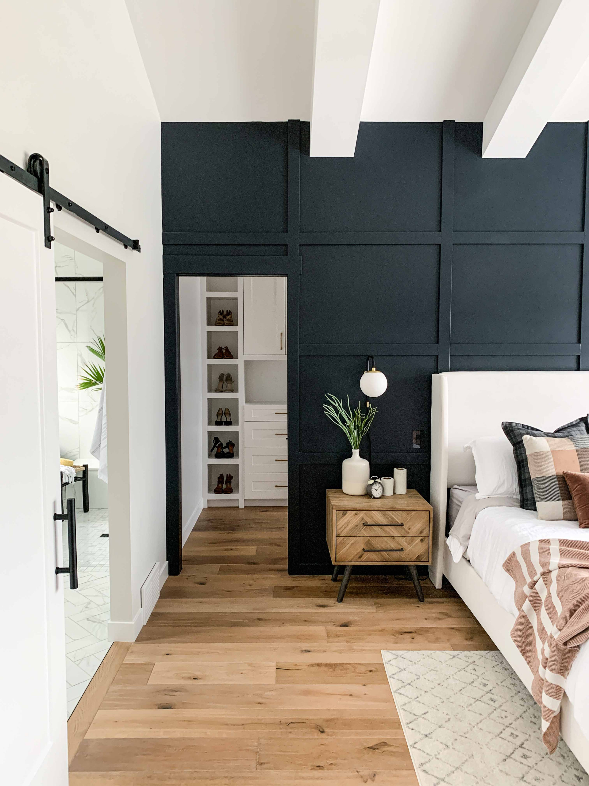75 Beautiful Bedroom With Black Walls Pictures Ideas June 2021 Houzz