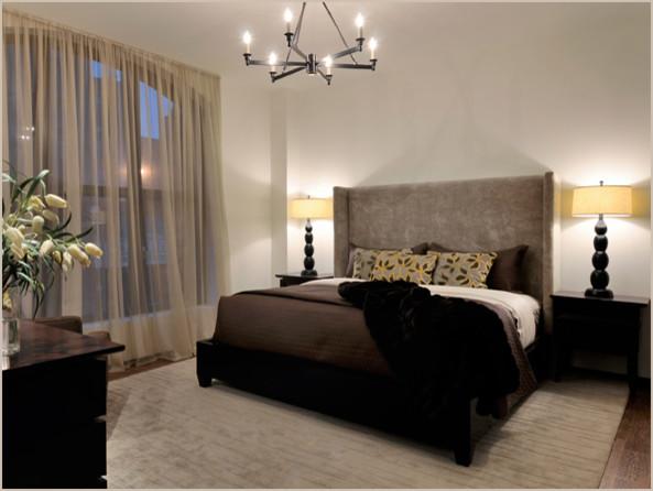 Tribeca Loft contemporary-bedroom