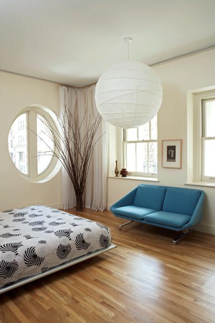 Tribeca Loft modern-bedroom