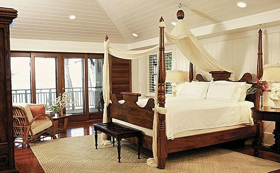 Trigg-Smith Architects - Project - An Island Estate tropical-bedroom