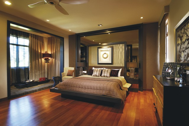 Tropical bedroom for Exotic bedroom decor