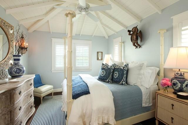 Naples florida cottage tropical bedroom other metro for Coastal cottage bedroom ideas