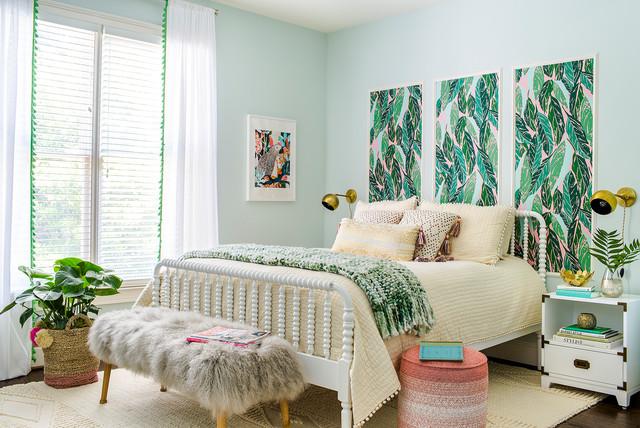 Tropical Bedroom Tropicale Camera Da Letto Atlanta Houzz