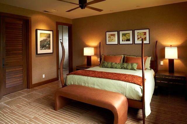 Kukio tropical-bedroom