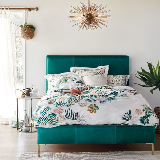 Teal Bedroom Ideas Houzz Uk