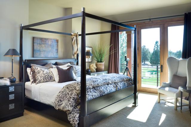 True Residence rustic-bedroom