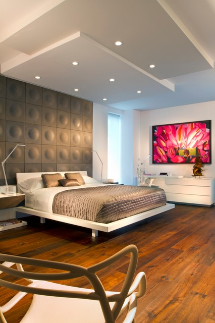 Trump Hollywood contemporary-bedroom