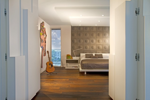 Trump hollywood modern bedroom miami by britto charette llc nyc interiors Trump home bedroom furniture