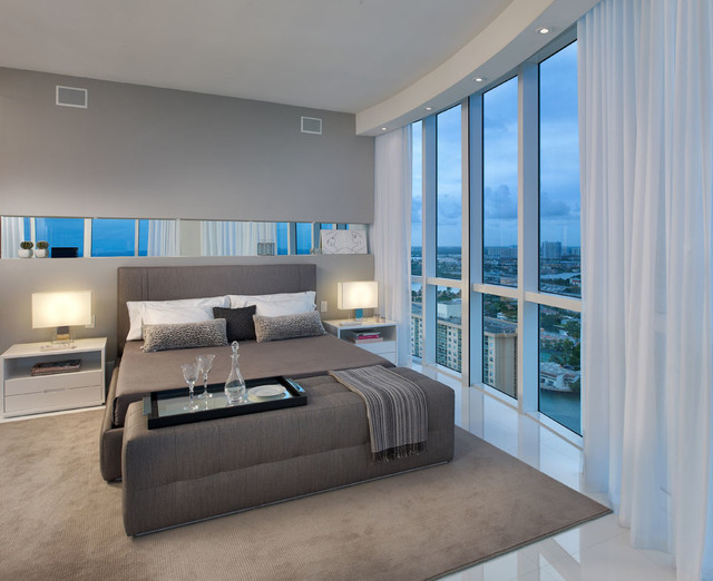 Trump Tower Modern Bedroom Miami By Ch Construction Group