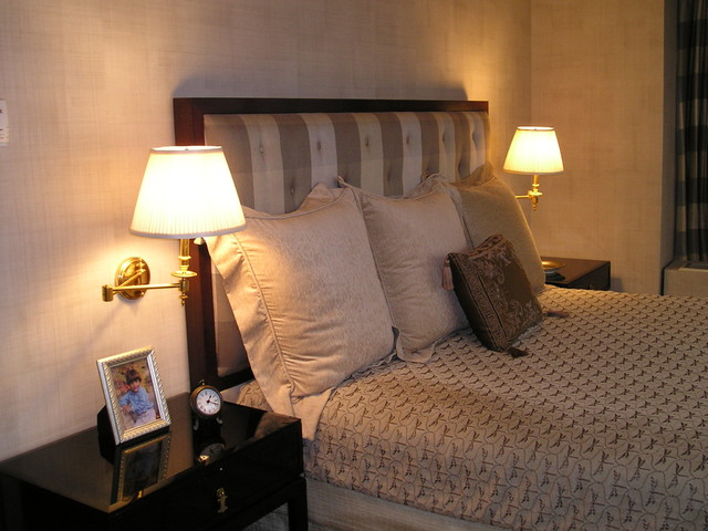 Trump tower eclectic bedroom new york by nancy pearson design Trump home bedroom furniture
